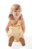 A lovely preschooler Royalty Free Stock Photo