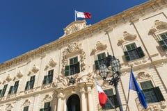 Auberge de Castille in Valletta, Malta Royalty Free Stock Photo