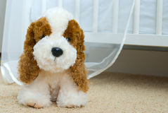 Lovely puppy-toy Stock Image