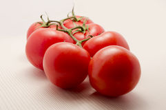 Ripe cherry tomatoes Royalty Free Stock Images