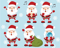 Lovely Santa Claus. Web Icons -- for your website, powerpoint, leaflet etc Royalty Free Stock Images