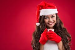 Lovely Santa Stock Photo
