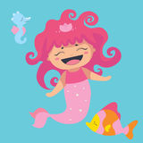 Lovely sea characters Royalty Free Stock Photography