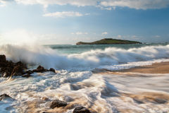 Lovely seascape Stock Photo