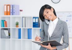 Lovely secretary Royalty Free Stock Image