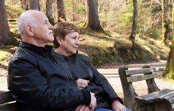 Lovely senior couple Stock Photography