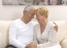 Lovely senior couple. Stock Photo