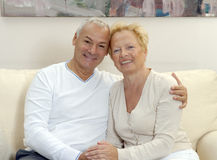 Lovely senior couple. Royalty Free Stock Photo