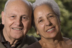 Lovely senior couple Royalty Free Stock Images