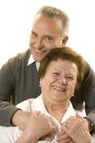 Lovely senior couple Stock Images