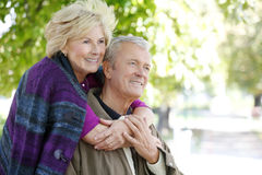 Lovely senior couple Royalty Free Stock Photos