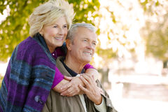Lovely senior couple Royalty Free Stock Photography