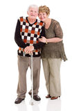 Lovely senior couple Stock Photography
