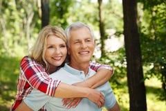 Lovely senior couple Royalty Free Stock Photography