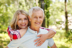 Lovely senior couple Stock Image