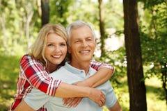 Lovely senior couple Royalty Free Stock Image
