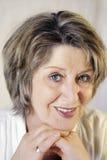 Lovely senior face Stock Images