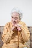 Lovely senior woman Royalty Free Stock Photos