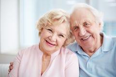 Lovely seniors Stock Photography