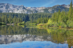 A lovely shallow lake in California Stock Images