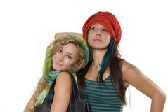 Lovely sisters Stock Photography