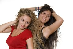Lovely sisters Royalty Free Stock Images