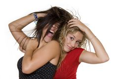 Lovely sisters Stock Images