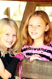 Lovely sisters Royalty Free Stock Photography