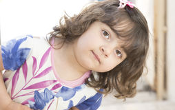 Lovely small girl Royalty Free Stock Photography