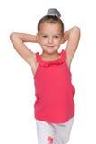 Lovely smiling little girl Royalty Free Stock Images