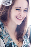 Lovely smiling portrait Stock Photography