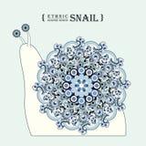 Lovely snail Royalty Free Stock Photography