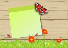 Lovely spring background Stock Images