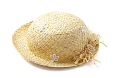 Lovely straw hat Stock Photo