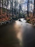 A babbling brook Stock Photography