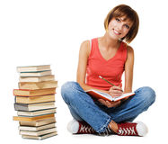 Lovely student girl Royalty Free Stock Photo