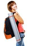 Lovely student girl stock photo