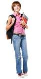 Lovely student girl stock image