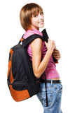 Lovely student girl Royalty Free Stock Images