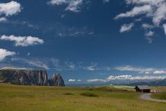 Lovely summer alpine scenery Stock Photos