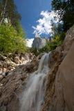 Lovely summer alpine scenery Stock Images