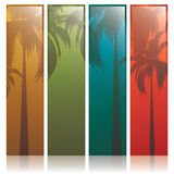 Lovely summer banners Stock Image
