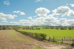 Free Lovely Summertime Scenery In The Welsh Countryside. Stock Images - 102638164