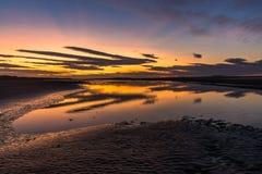 Beale Strand Sunset Royalty Free Stock Photos