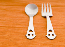 Lovely tableware Royalty Free Stock Photo