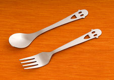 Lovely tableware Royalty Free Stock Image
