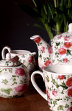 Lovely tea service Royalty Free Stock Photography