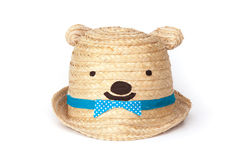 Lovely teddy bear hat Royalty Free Stock Photos