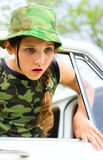 Lovely teen girl Royalty Free Stock Photography