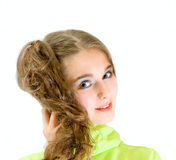 Lovely teen girl Royalty Free Stock Image